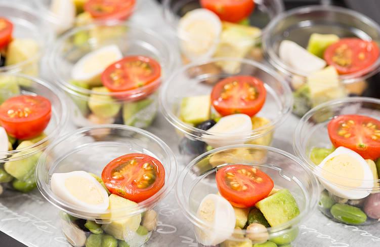 季節野菜のコブサラダ