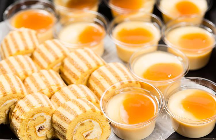 季節のロールケーキ&季節のデザート