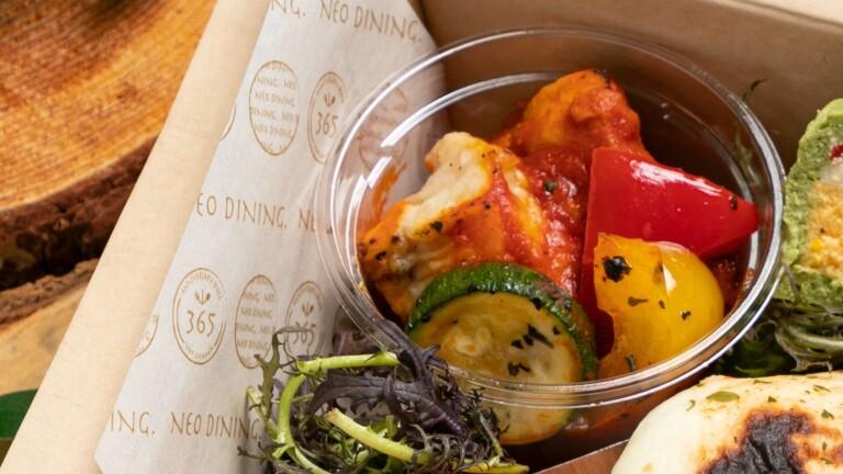 じっくり炙った柔らかチキンと横浜野菜のトマト煮込み